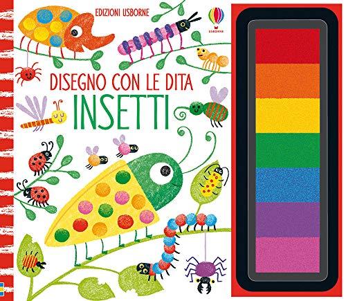 Insetti. Disegno con le dita. Ediz. a colori. Ediz. a spirale. Con gadget