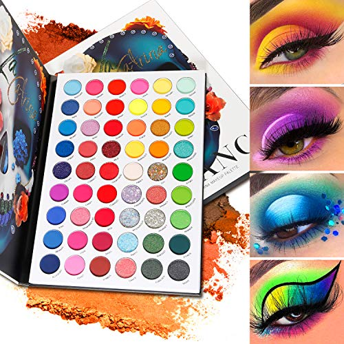 DE'LANCI La Catrina Neon Eyeshadow …