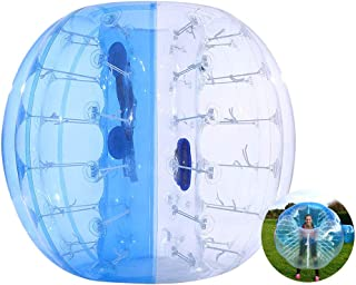 ThinkMax Bumper Bubble Soccer Ball for Kids and Adults, 4FT / 5FT Giant Inflatable Human Hamster Ball Body Zorb Ball