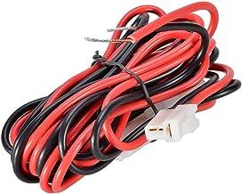 کابل برق رادیو DC تلفن همراه موبایل Agile-Shop 3M T-Shape برای Kenwood TM-741 TM-V7 TM-G707 TM-D700 YAESU FT-1807 FT-8800