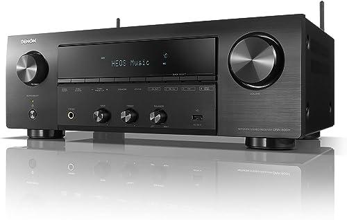 Denon DRA-800H 2-Canais Stereo Network Receiver - Preto