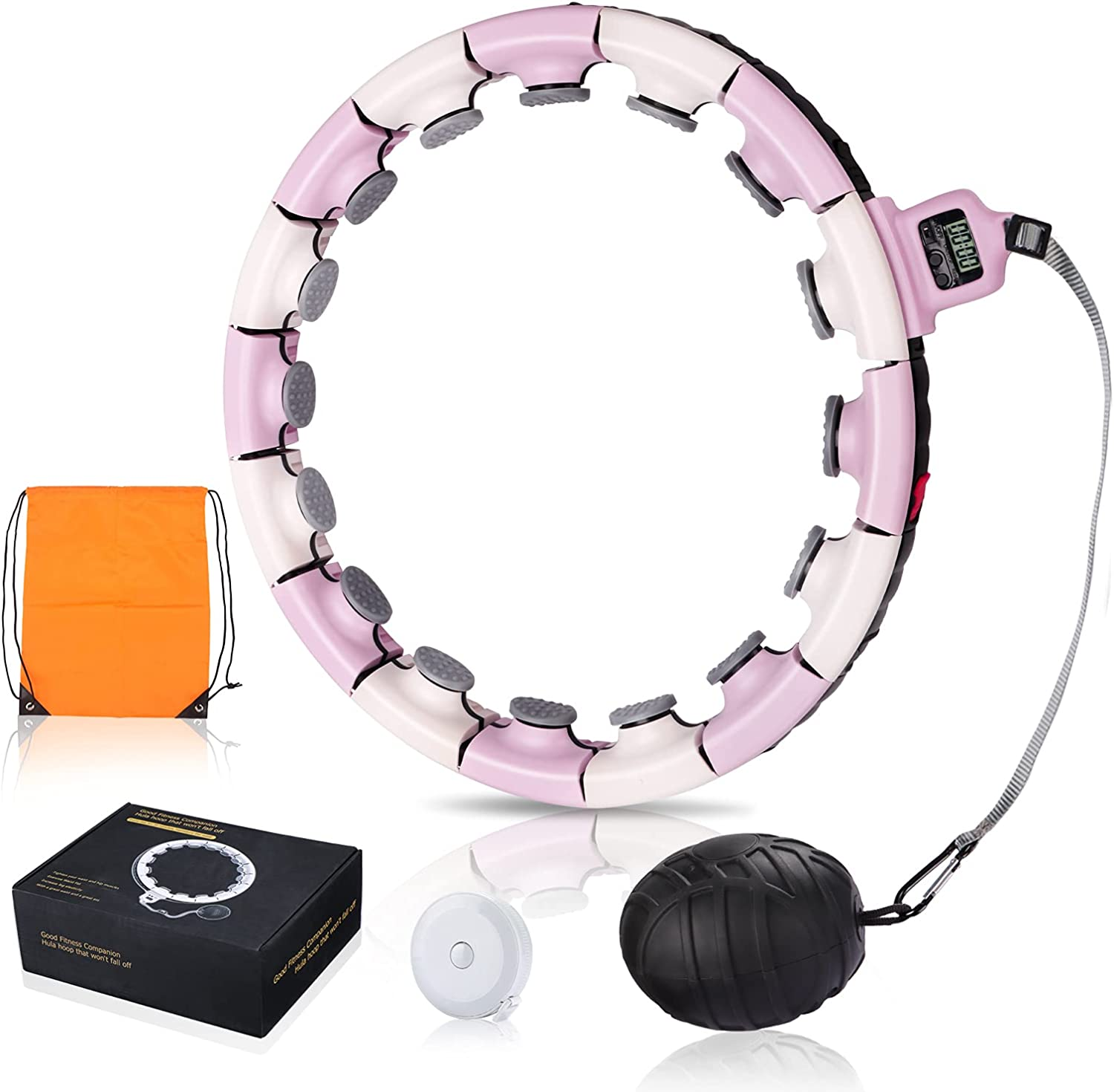 Smart Weighted Hoola Fitness Hoop Super special price for Weight Loss Adults Upg Easy-to-use New