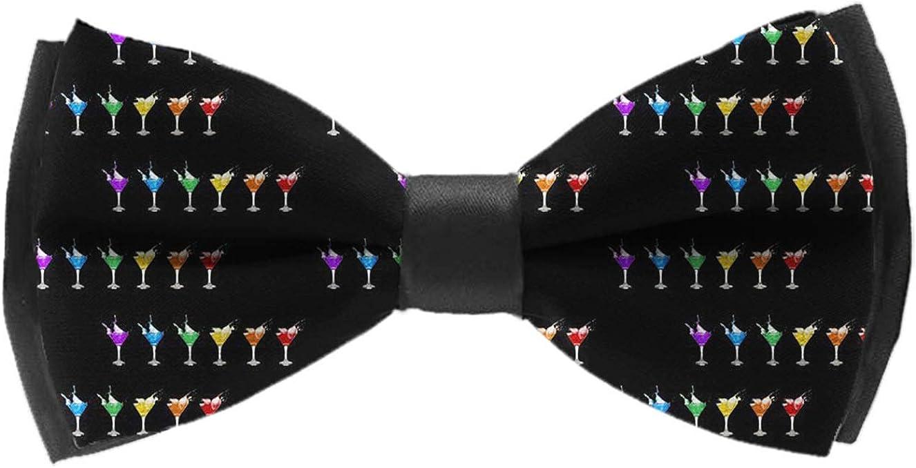 Bow Ties For Men - Mens Pre Tied Bowties(Marijuana weed Leaf)