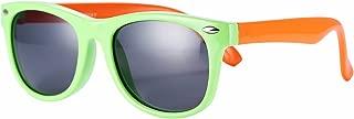 TPEE Rubber Flexible Kids Polarized Sunglasses Age 3-10