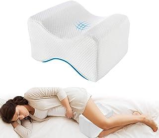 comprar comparacion Almohadas para piernas para dormir, Cojín para almohada con de memoria para durmientes de lado, Almohada de apoyo para