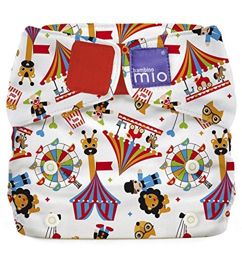 Bambino Mio SO CT Miosolo Circo, Pannolino Lavabile Tutto-In-Uno, Multicolore