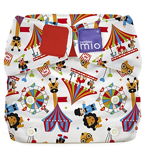 Circus Time All-in-One One Size Windel Bambino Mio MioSolo