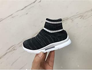 DEERBURG Toddler Kid's Sneakers Boys Girls Cute Casual Running Shoes Fashion Sneakers Shoes High Top Socks Mesh Sneakers Air Cushion Comfortable Shoes