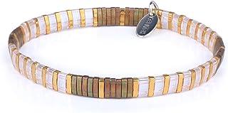 KELITCH Coloré Relation Amicale Étendue Bracelets Bonbons Miyuki Perles Bracelets Mixte Brin Bracelets