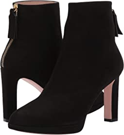 5d1500f602f1 ... Ankle Boots and Booties · Stuart Weitzman · Women. Black Suede
