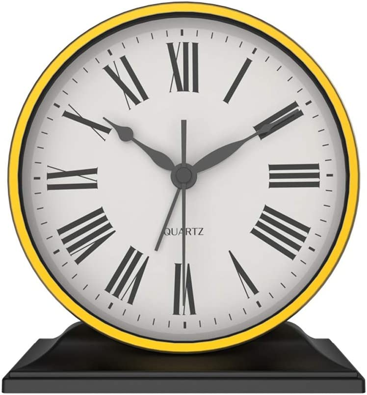 dxzsf Popular products European Metal Table Clock All items in the store American Livi Minimalist Modern