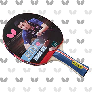 Butterfly Unisex-Adult Butterfly RDJ S2 Table Tennis Racket – ITTF Approved Butterfly Ping Pong Paddle – Great Spin, Speed...