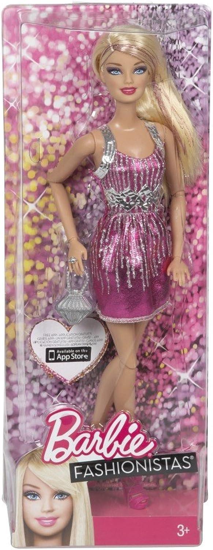 se descuenta Barbie - Fashionistas  muñeca con con con Pelo Rubio (Mattel Y7487)  alta calidad general