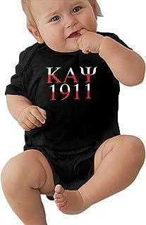 Kappa Alpha Psi Logo Onesie Baby 100% Cotton Short Sleeve Bodysuit
