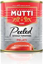 Mutti — 28 oz. 12 Pack of Whole Peeled Tomatoes (Pelati), from Italy's #1 Tomato..