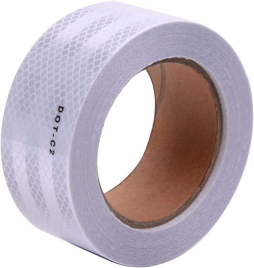 White DOT-C2 Conspicuity Reflective Tape - 2