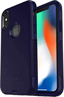OtterBox Commuter Series Case for iPhone Xs & iPhone X - Non-Retail Packaging - Indigo Way