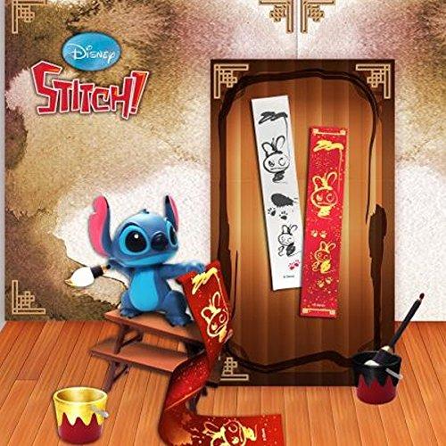 Dragon–Disney Diorama Stitch caligrafía Figura, 89195332011, 10cm