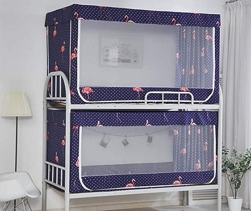 FEFEFEF Moustiquaire Lits superposés dortoir pour Femmes Doubles Stores Hauts et Bas lit Rideau lit pour Enfants moustiquaire,3,1.2  1.9  1.1m2