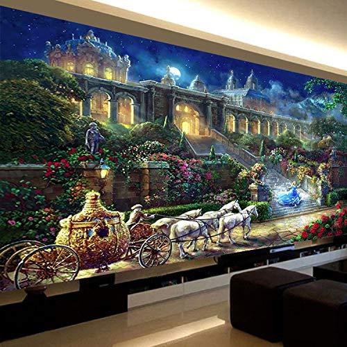 CULASIGN DIY 5D Diamant Malerei Full Diamond Kristall Strass Stickerei Bilder Wohnzimmer Dekor Wand Aufkleber (75x150cm)