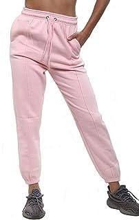 Ladies High Waist Jogging Bottoms Joggers Active Gym Pants Trousers Plus BigSize