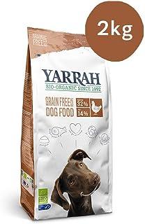 Yarrah Alimento Orgánico para Perros sin Cereales - 2 kg -