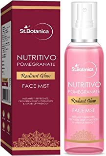 StBotanica Pomegranate Radiant Glow Face Mist, 120ml - Instantly Refreshes, Provides Deep Hydration & Makeup Friendly