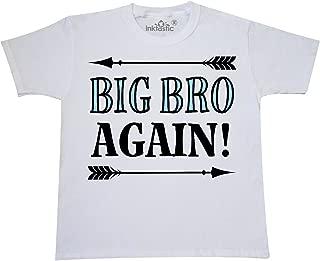 Big Bro Again Announcement Boys Youth T-Shirt 2ea2b