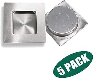 Probrico Brushed Nickel Flush Pull (5 Pack) 2-3/4