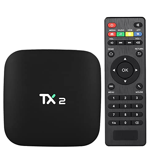 Docooler TX2 Smart Android TV Box Android 6.0 Rockchip RK3229 Quad Core UHD 4K VP9 H
