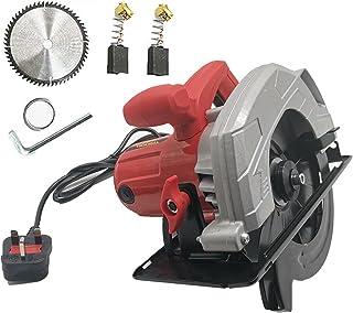 1650W Electric Circular Saw Max Cutting Depth: 90°: 65mm/45°: 45mm Adjustable Cutting Depth and Angle Circular Saw Cutting...