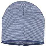 Polarn O. Pyret FINE Stripe ECO Beanie (Baby) - 9 Months - 2 Years/Ensign Blue