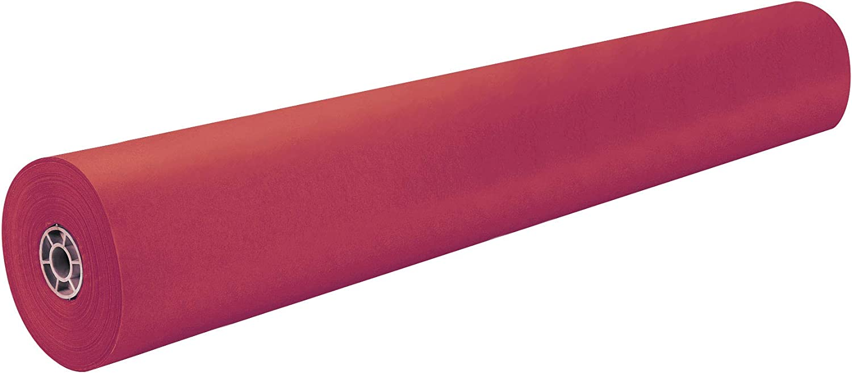 Pacon Philadelphia Mall Rainbow Lightweight Duo-Finish Great interest Kraft Paper Roll 3-Feet by