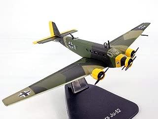 Junkers Ju-52 (Ju 52) German Transport - Luftwaffe 1/144 Scale Diecast Model