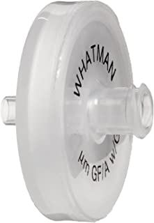 Pack of 20 Whatman 10463400 Polydisc GW Nylon In-line Filters 4.5 bar Maximum Pressure 6 to 14mm Tubing Nozzle Connection 0.45 Micron WHA-10463400
