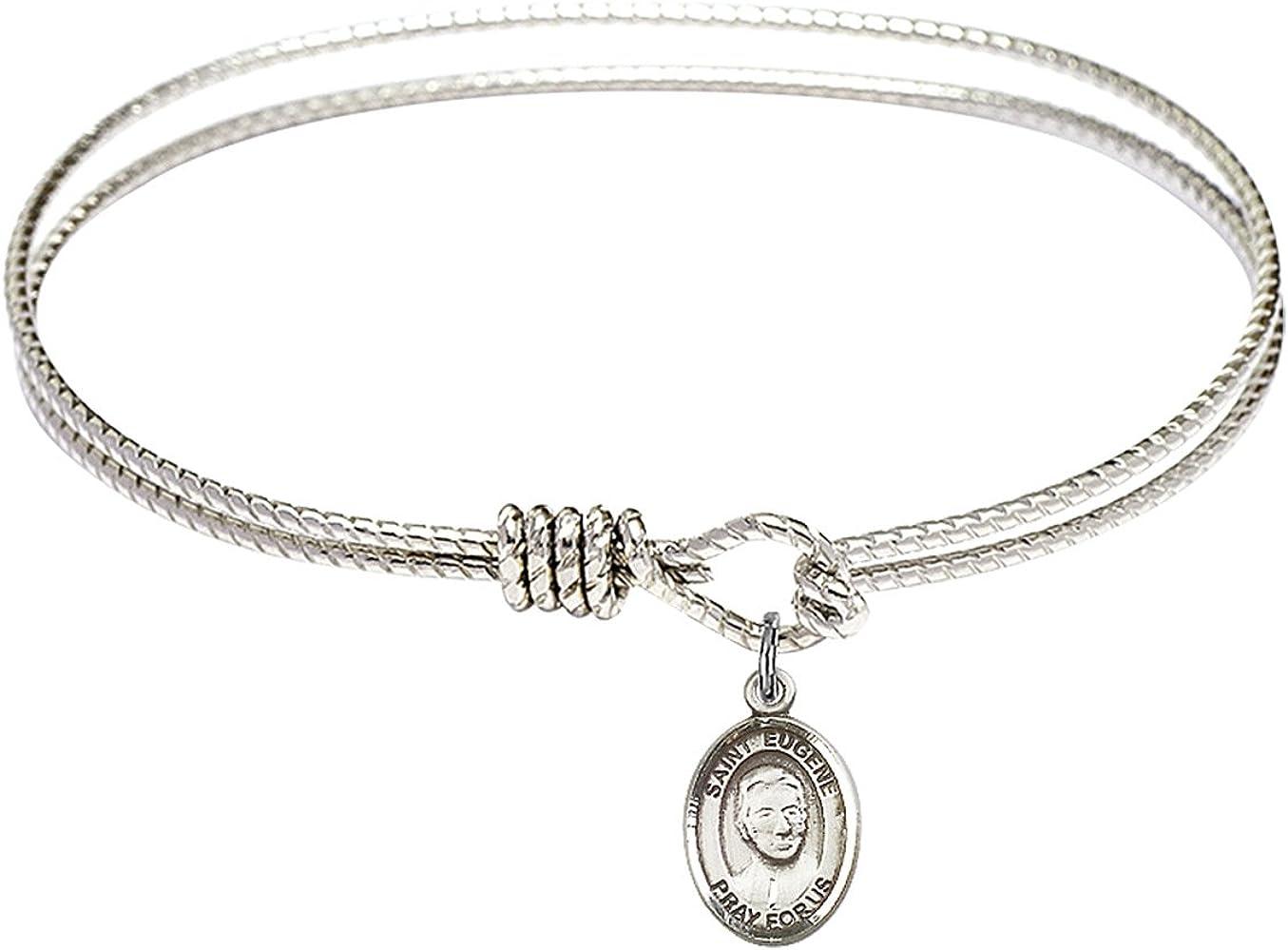 4 years warranty Bonyak Jewelry Oval Eye Hook Bangle St. Maz w Fees free!! de Eugene Bracelet