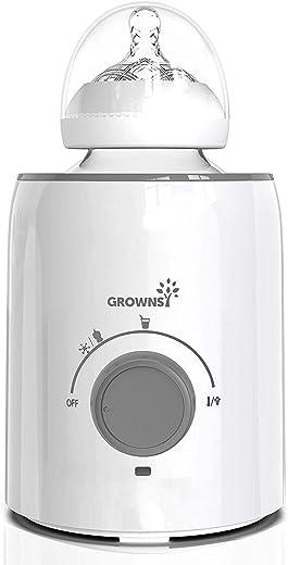 Bottle Warmer | Bottle Sterilizer | 5-in-1 Fast Baby Bottle Warmer | Baby Food Heater&Defrost BPA-Free Warmer for Breastmilk and Formula