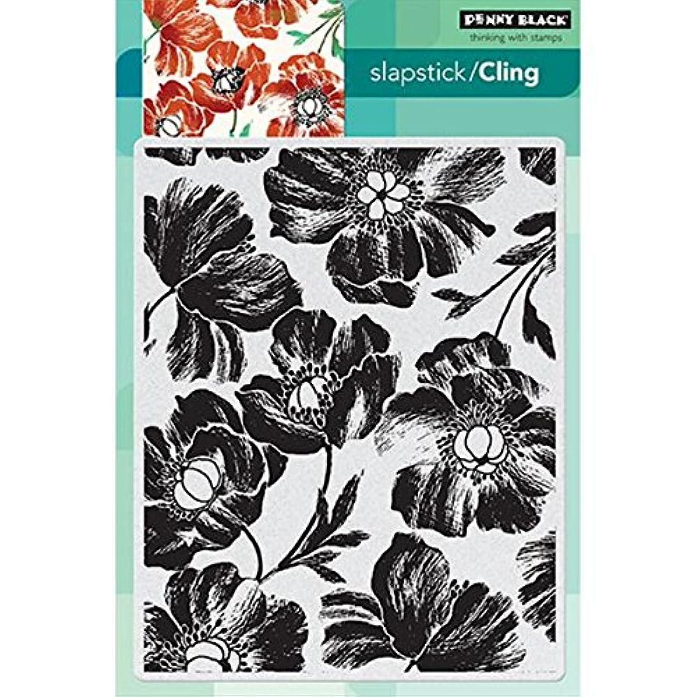 Penny Black 40-290 Poppy Pattern Decorative Stamp
