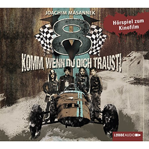 V8 - Komm, wenn du dich traust! Hörspiel zum Kinofilm                   By:                                                                                                                                 Joachim Masannek                               Narrated by:                                                                                                                                 div.                      Length: 1 hr and 17 mins     Not rated yet     Overall 0.0