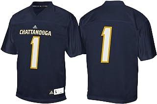 adidas Chattanooga Mocs NCAA Men's Navy Blue #1 Home Official Football Jersey