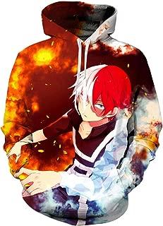Boku No Hero Academia Hoodie My Hero Academia Season 5 Hooded 3D Printed Pullover Cosplay Sweatshirt