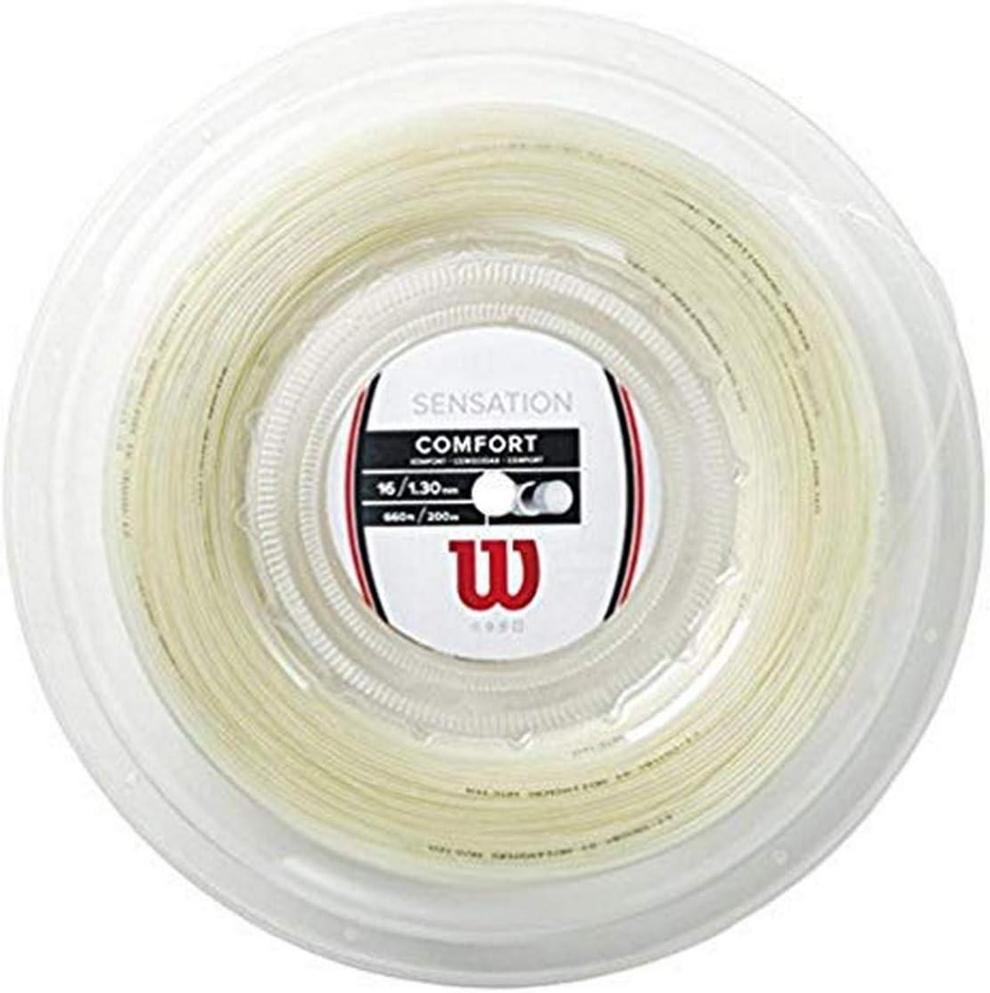 16 Gauge Set Wilson Synthetic Gut Power 16 Purple Tennis String