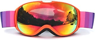 TPU PC Children'S Double Layer Permanent Anti Fog Ski Goggles Mountaineering Goggles Winter Ski Goggles