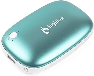 BigBlue Chauffe Mains Rechargeable USB, 6000mAh Chaufferette de Poche, Batterie Externe avec Lampe de Poche, Chaufferette ...