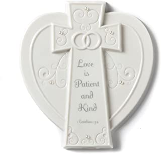 DEMDACO From This Day Forward Love is Patient Plaque