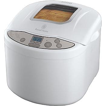 Russell Hobbs 18036-56 Machine à Pain Automatique 660W, 4 Programmes : Pain Classique, Baguette, Pain Complet, Pâte à Pizza