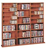 Leslie Dame High Capacity Multimedia Cabinet, Cherry