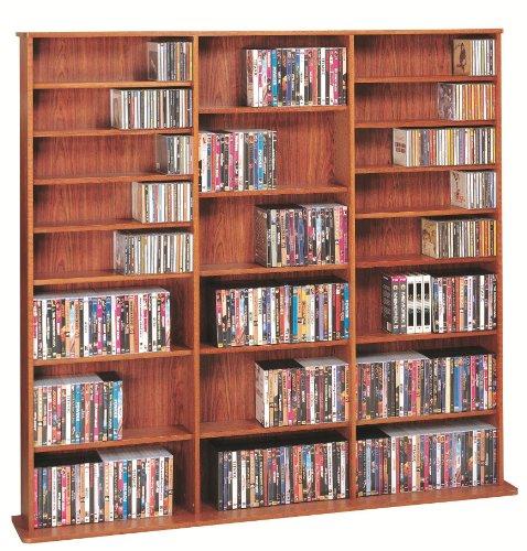 Leslie Dame High Capacity Multimedia Cabinet, Cherry