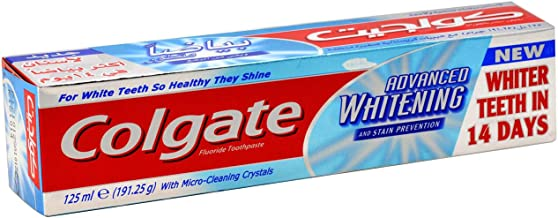 Colgate Advanced Whitening Toothpaste 125 ml