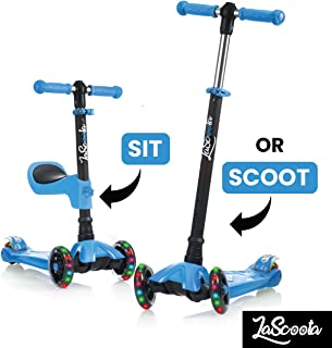 Light Up Scooter For 5 Year Old